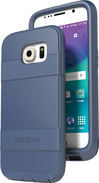 Pelican Samsung Galaxy S6 Voyager Case and Holster - Blue