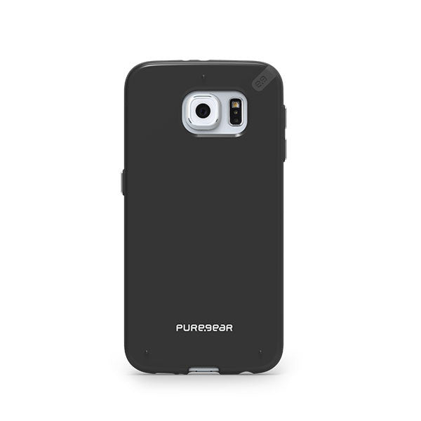 PureGear Samsung Galaxy S6 Slim Shell Case - Black