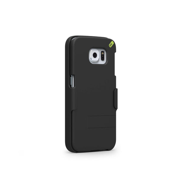 PureGear Samsung Galaxy S6 Hip Case with Kickstand / Holster - Black