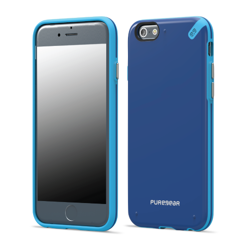 PureGear Apple iPhone 6 Plus / 6s Plus Slim Shell Case - Pacific Blue
