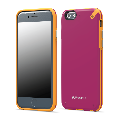 PureGear Apple iPhone 6 Plus / 6s Plus Slim Shell Case - Sunset Pink