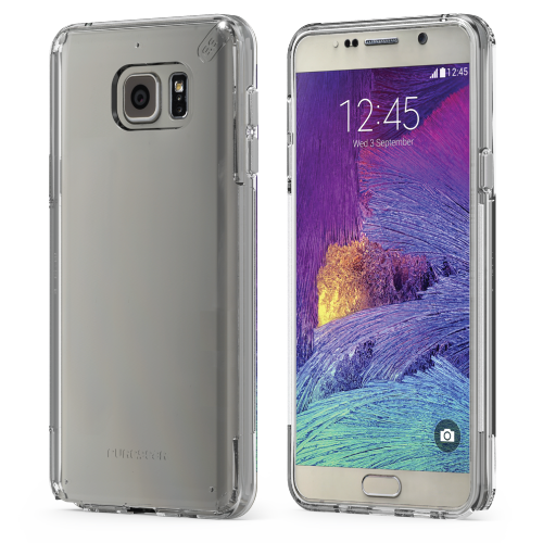 PureGear Samsung Galaxy Note 5 Slim Shell Case - Clear / Clear