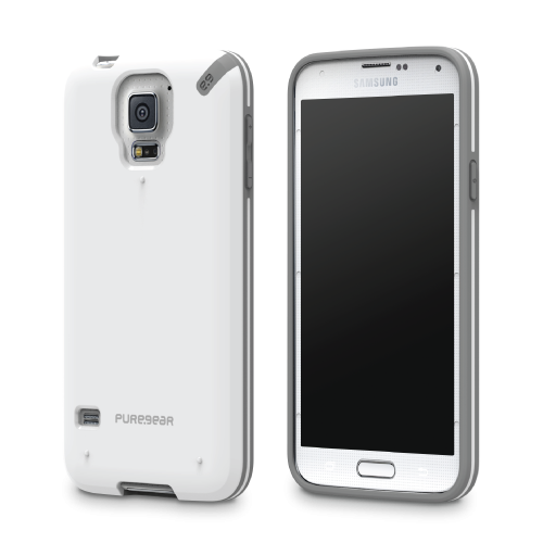 PureGear Samsung Galaxy S5 Slim Shell Case - White