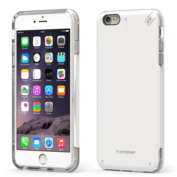 PureGear iPhone 6s / 6 DualTek Pro Case - White / Clear