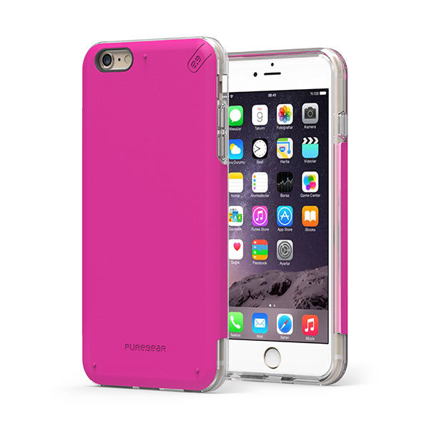 PureGear iPhone 6s Plus / 6 Plus DualTek Pro Case - Pink / Clear