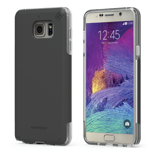 PureGear Samsung Galaxy Note5 DualTek Pro Case - Black / Clear
