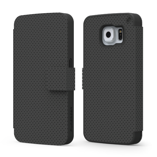 PureGear Samsung Galaxy S6 Express Folio Case - Black