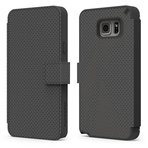 PureGear Samsung Galaxy S7 Express Folio Case - Black