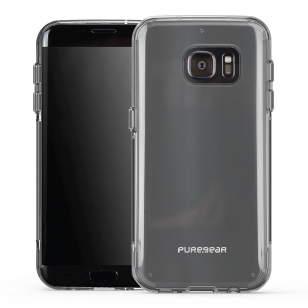 PureGear Samsung Galaxy S7 Edge Slim Shell Pro Case - Clear / Clear
