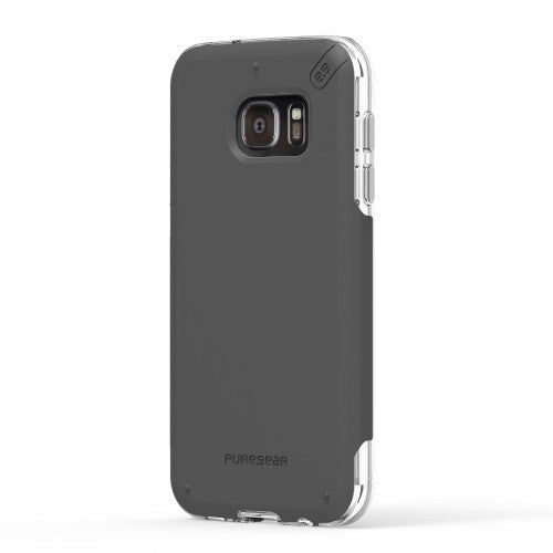 PureGear Samsung Galaxy S7 Edge DualTek Pro Case - Clear / Black