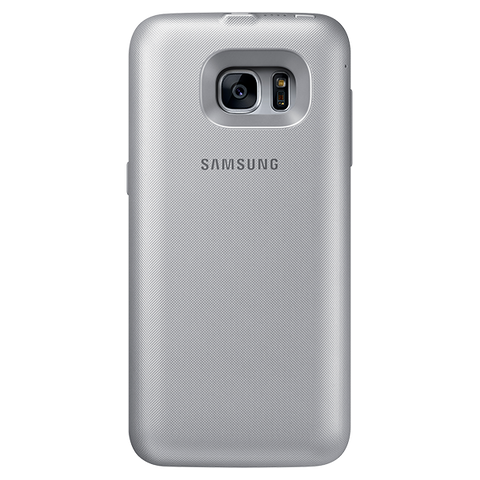 Samsung Galaxy S7 Wireless Charging Battery Case - Silver