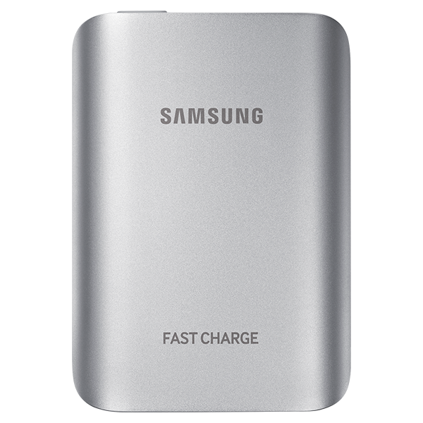 Samsung Fast Charge Battery Pack (5.1A) - Silver