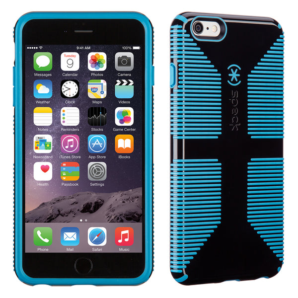 Speck Candyshell Grip Case iPhone 6 / 6s Plus - Black And Jay Blue