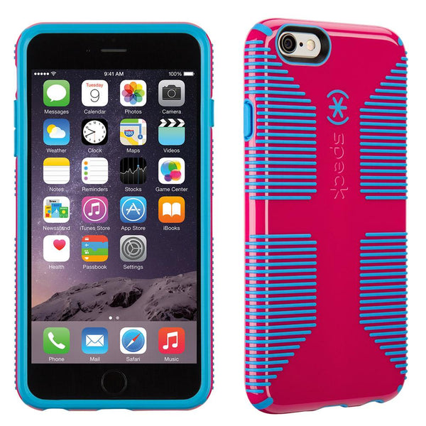 Speck Candyshell Grip Case iPhone 6 / 6s Plus - Lipstick Pink And Jay Blue