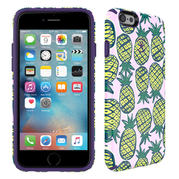 Speck Candyshell Inked Case iPhone 6 / 6s Plus - Pineapple Pac And Knight Purple