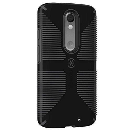 Speck Candyshell Grip Case For Motorola Droid Turbo 2 - Black / Slate Gray