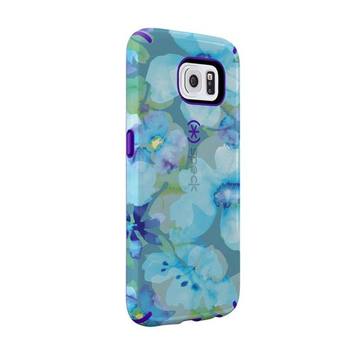 Speck Candyshell Inked Case for Samsung Galaxy S6 - Blue And Ultraviolet Purple