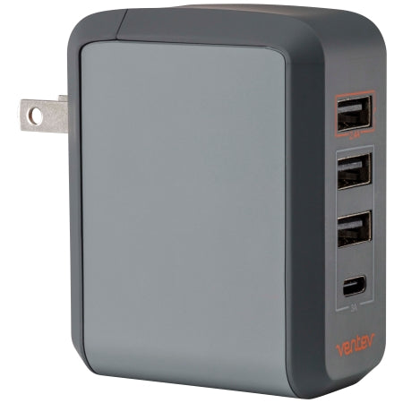 Ventev wallport r430 Wall Charger with 4 USB Ports