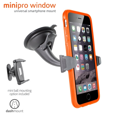 Ventev minipro Window  Windshield Suction Cup Mount
