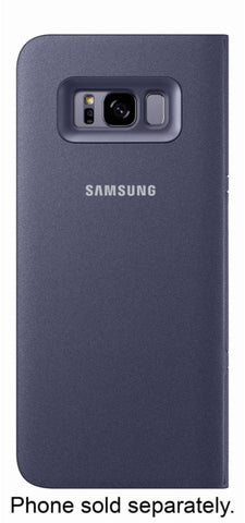 Samsung Galaxy S8+ LED View Case - Violet