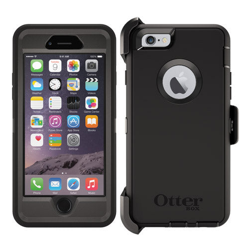 OtterBox Apple iPhone 6 / 6s Defender Series - Black