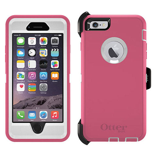 OtterBox Apple iPhone 6S Defender Case - Hibiscus Frost