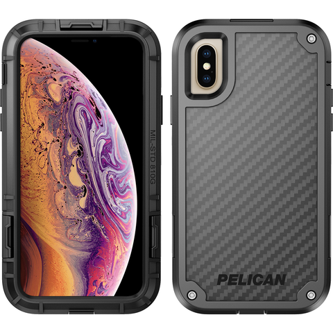 Pelican Shield Case for Apple iPhone Xs / X - Black