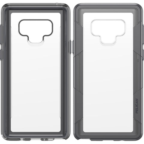 Pelican Voyager Case for Samsung Galaxy Note 9 - Clear and Gray