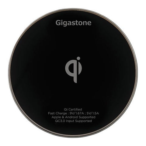 Gigastone Wireless Charging Stand 10W - Black