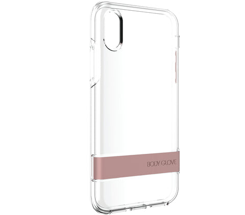 Body Glove Elevate Case with Kickstand for Apple iPhone X - Rose Gold