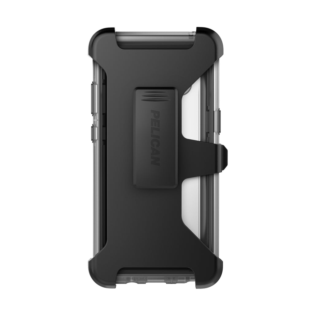 quality design 4abd3 748b9 Pelican Voyager Case and Holster for Samsung Galaxy Note8 - Clear/Gray