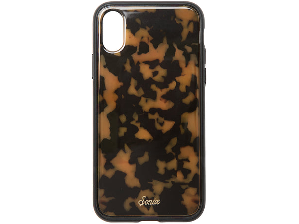 Sonix Clear Coat Luxe Case for Apple iPhone X - Brown Tortoise