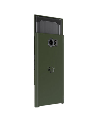 BlackBerry Slide Out Hard Shell Case for BlackBerry PRIV - Military Green