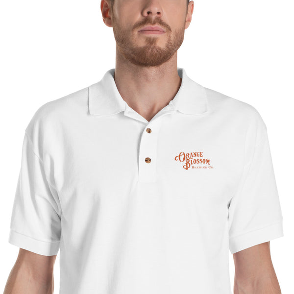 OBBC logo Embroidered Polo Shirt