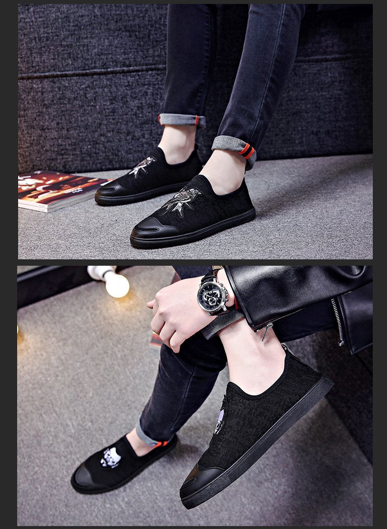 casual sports student lazy shoes male