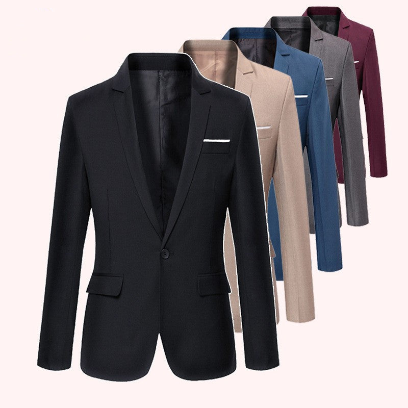 men's casual western decoration body small suit jacket