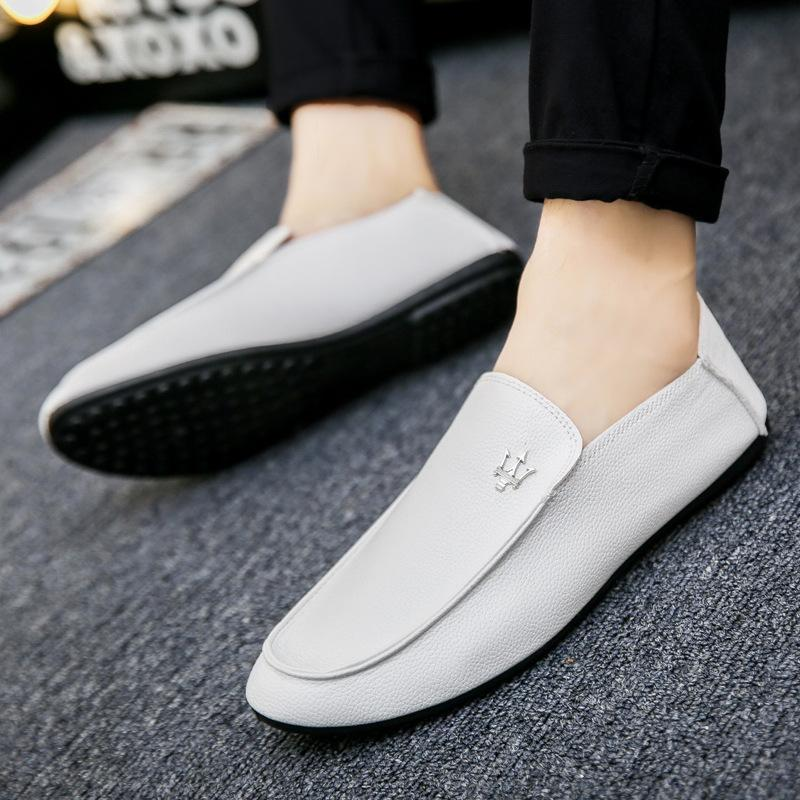 Spring and summer men's shoes society casual shoes, beans, shoes, lazy shoes, feet, pedal, pedal