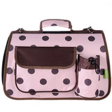 Large Polkadots Igloo Carrier (Navy/Pink/Red)