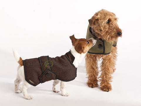 Luxury Wool Dog Coat - Blazer -