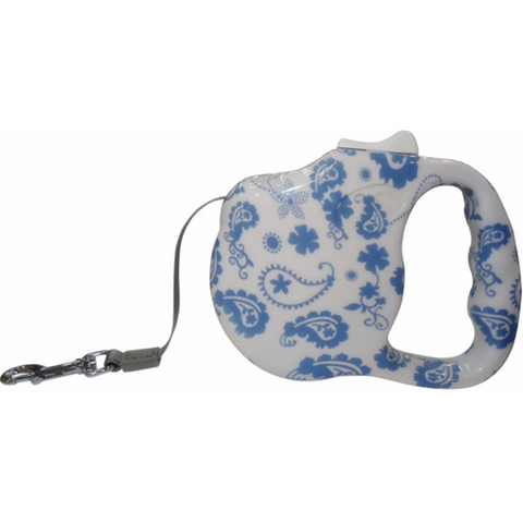 Retractable Lead Medium - Vintage Blue