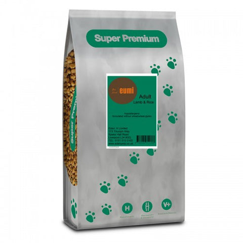 Super Premium Adult Lamb & Rice 12KG Pack