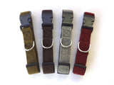 Woollen Dog Collar - Matching Lead Available