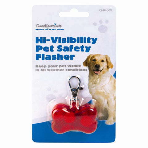 High Visibility Pet Safety Flasher