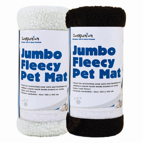 Large Fleece Pet Mat