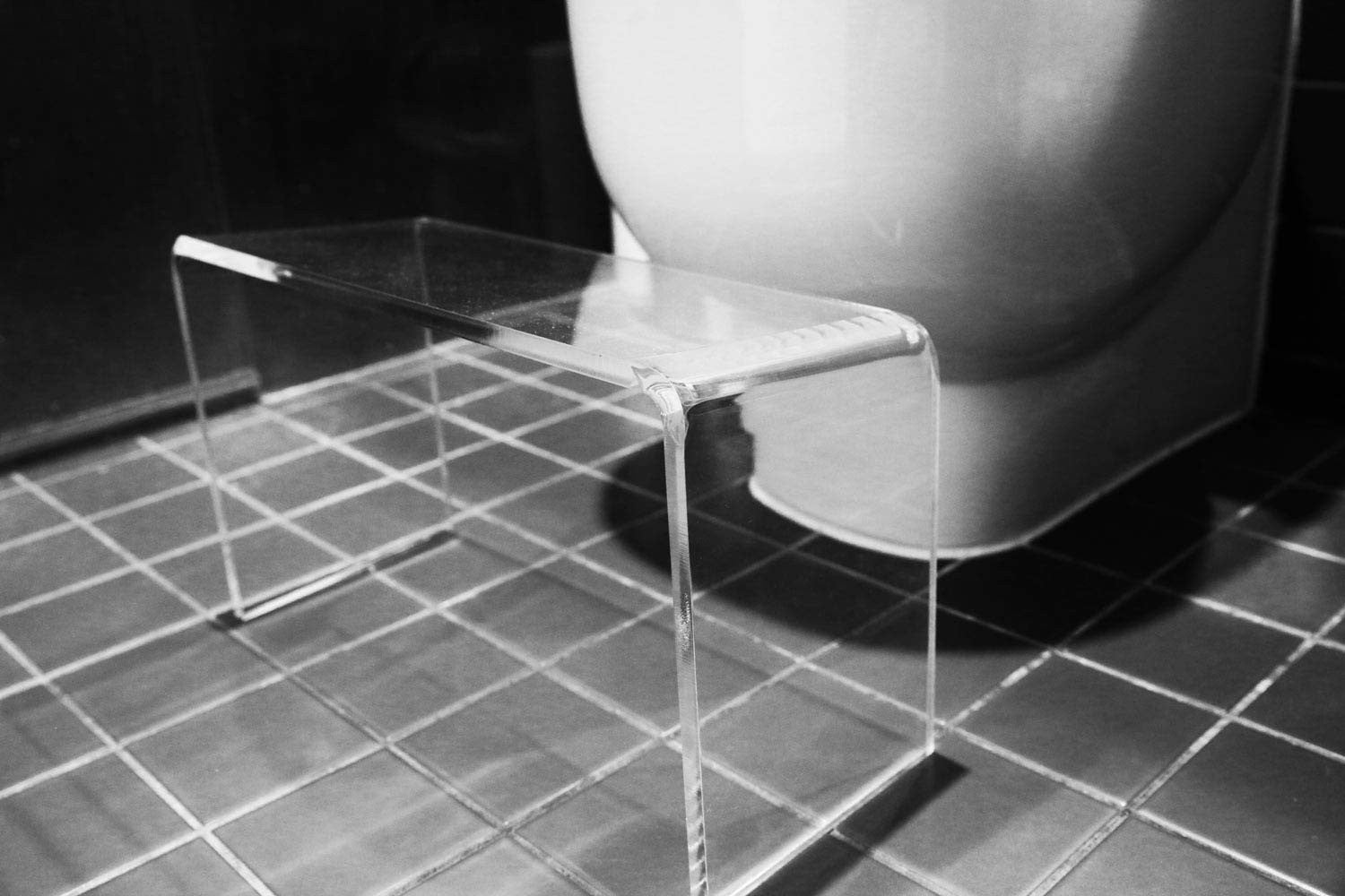 PROPPR CONCEALR invisible toilet stool