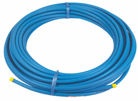 25mm x 25M MDPE Blue Water Pipe Coil