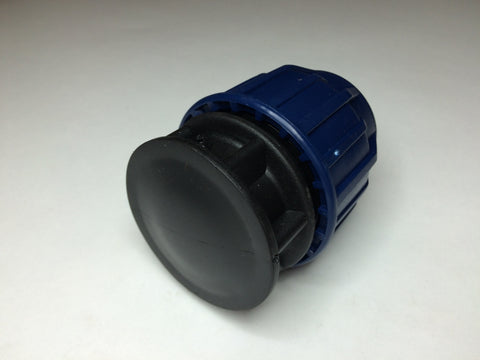 25mm MDPE Stop End Cap / Plug for Water Pipe