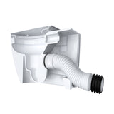 Viva Flexible WC Pan Connector Back to Wall PP0002/E