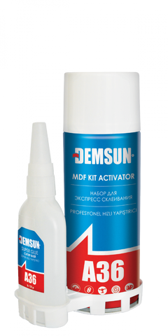 Demsun Trade MDF, Wood & Mitre Adhesive and Activator