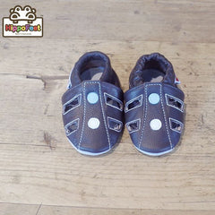 Sandals - Leather Baby Shoes by Hippofeet